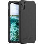 SFR-Coque Just Green Apple iPhone XR noir