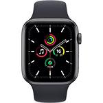 Apple Watch SE 4G 44 mm Aluminium Gris Sidéral avec Bracelet Sport Minuit