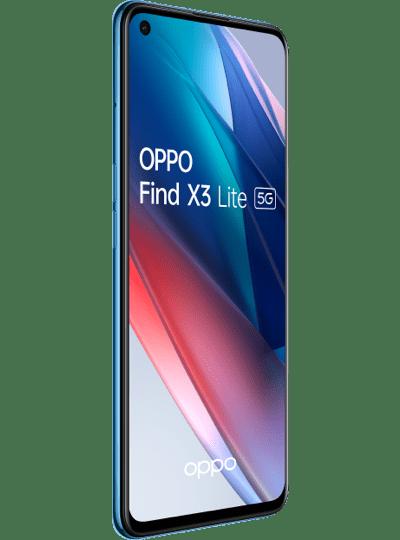 OPPO Find X3 Lite bleu