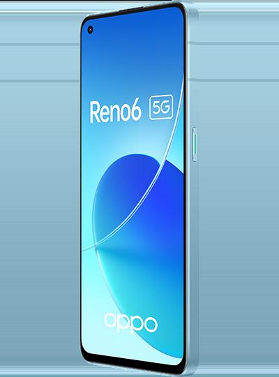 OPPO Reno6 5G bleu