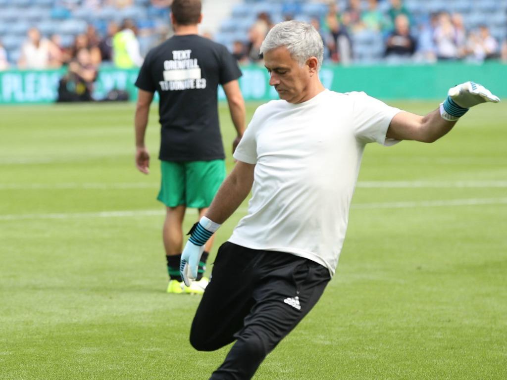 Mourinho se mue... en gardien de but !