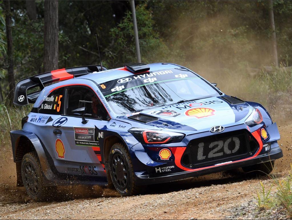 Thierry Neuville s'impose lors du rallye d'Australie
