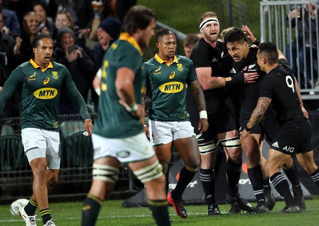 Rugby: nouveau record des All Blacks, qui brisent les Springboks... 57-0!