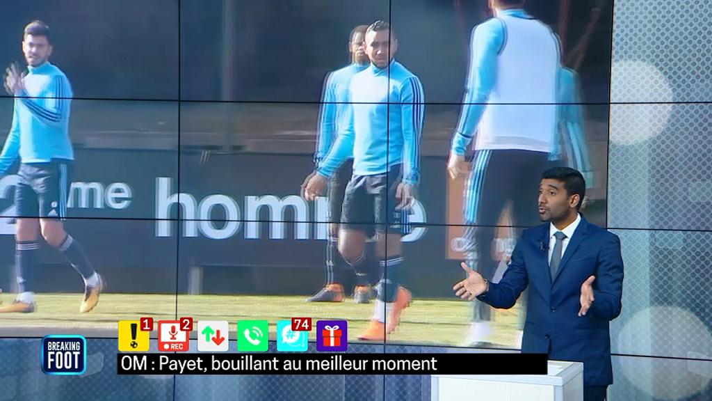 EN DIRECT. OM-Atlético (0-1) : Griezmann marque, Payet se blesse !