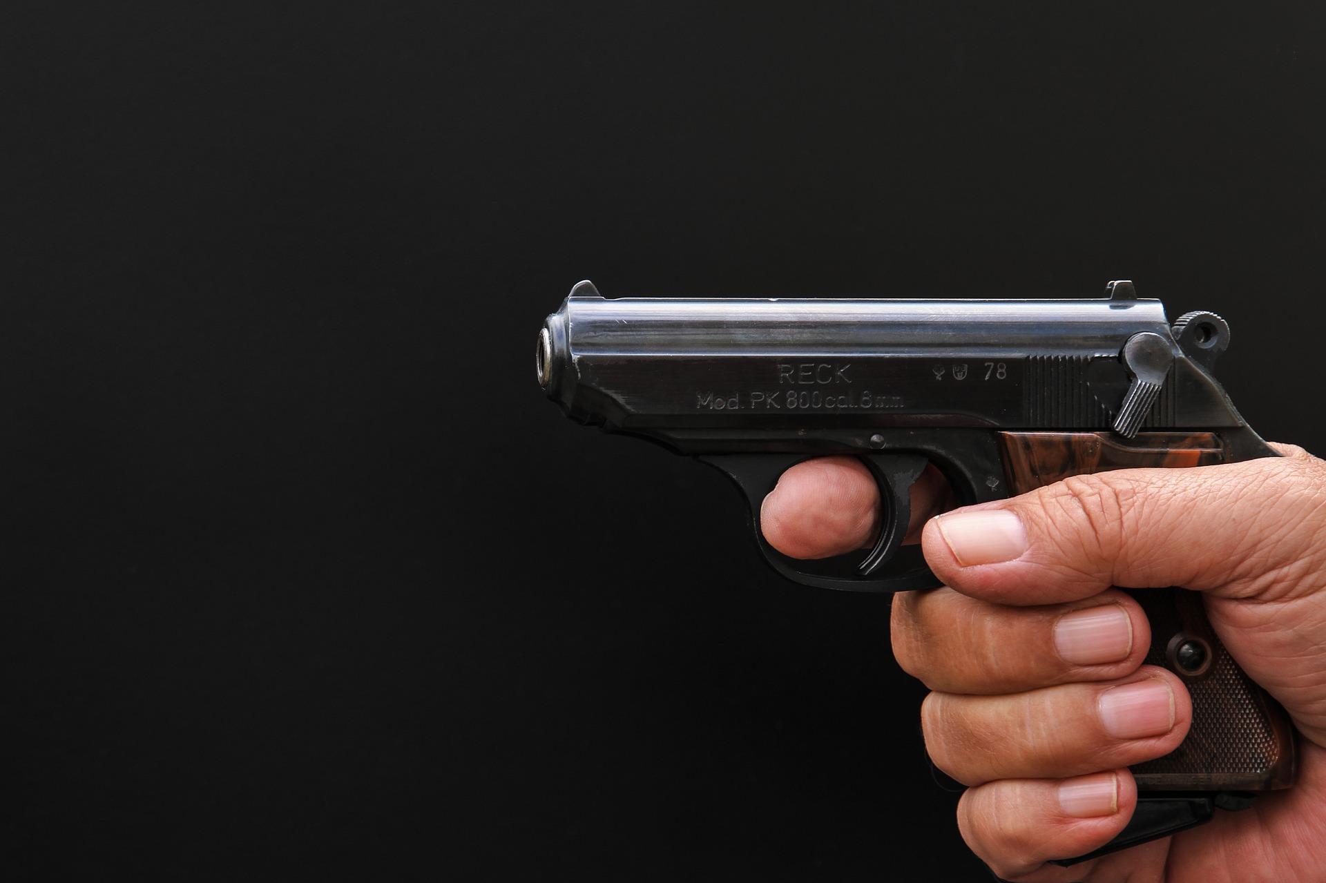 Le couple d'octogénaires menace un automobiliste avec un pistolet — Montereau