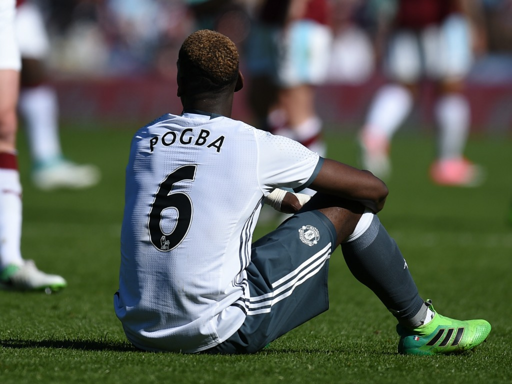 Pogba absent pour le derby face à City