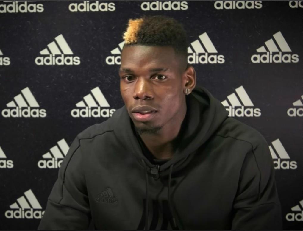 Pogba rend hommage à Evra — Man Utd