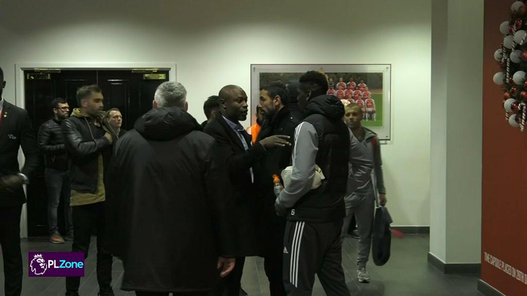 Pogba revient sur son expulsion — Manchester United