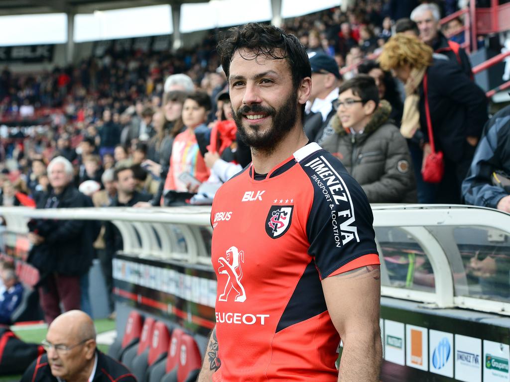 Clément Poitrenaud sous le maillot du Stade Toulousain