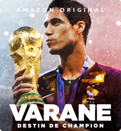 Affiche reportage Raphael Varane