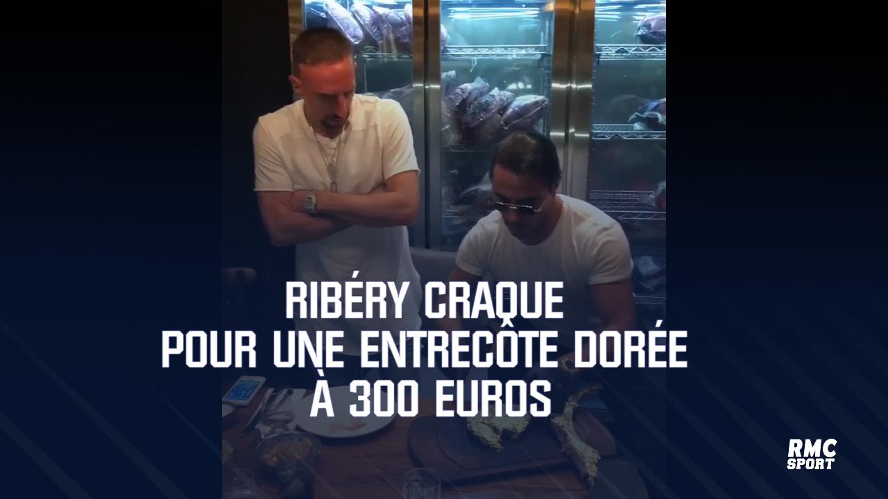 """Franck Ribéry : PETA lui envoie un panier de """"steaks"""" végans en or"""