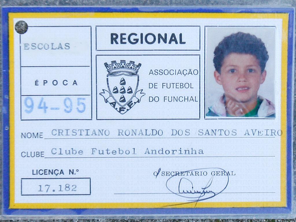 La licence de Cristiano Ronaldo à Andorinha