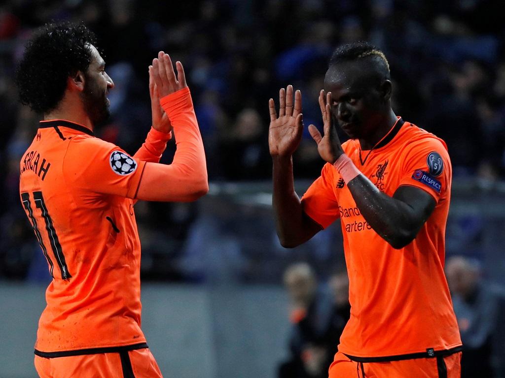 Mohamed Salah et Sadio Mané