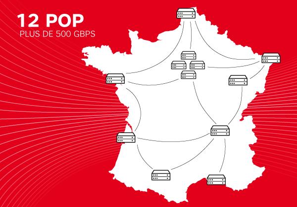Les Points De Presence SFR Business En France