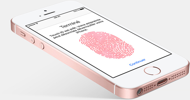 Touch ID iPhone SE
