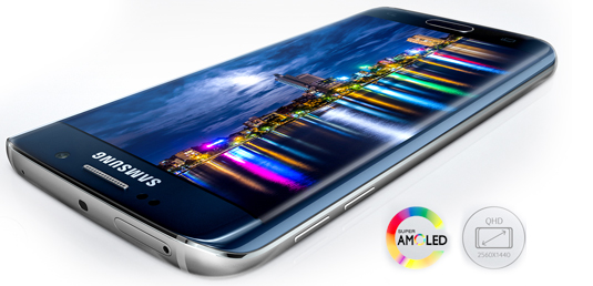Galaxy S6 edge ecran
