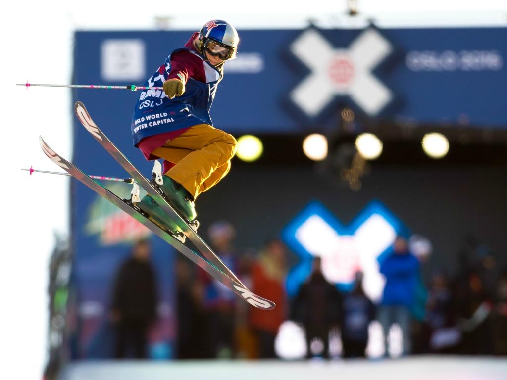 Kelly Sildaru aux Winter X Games d'Oslo en 2016