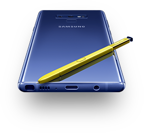 Samsung Galaxy Note9 avec son stylet