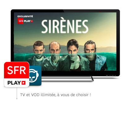 SFR PLAY: Le meilleur du divertissement