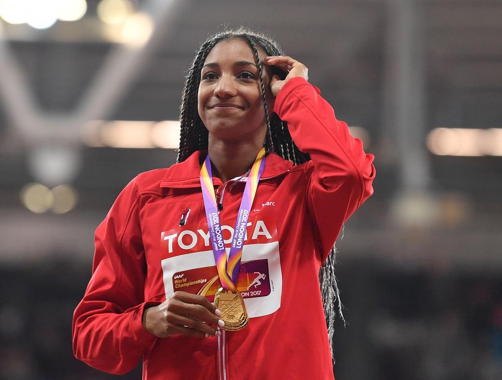 Nafissatou Thiam élue athlète mondiale de l'année — Athlétisme