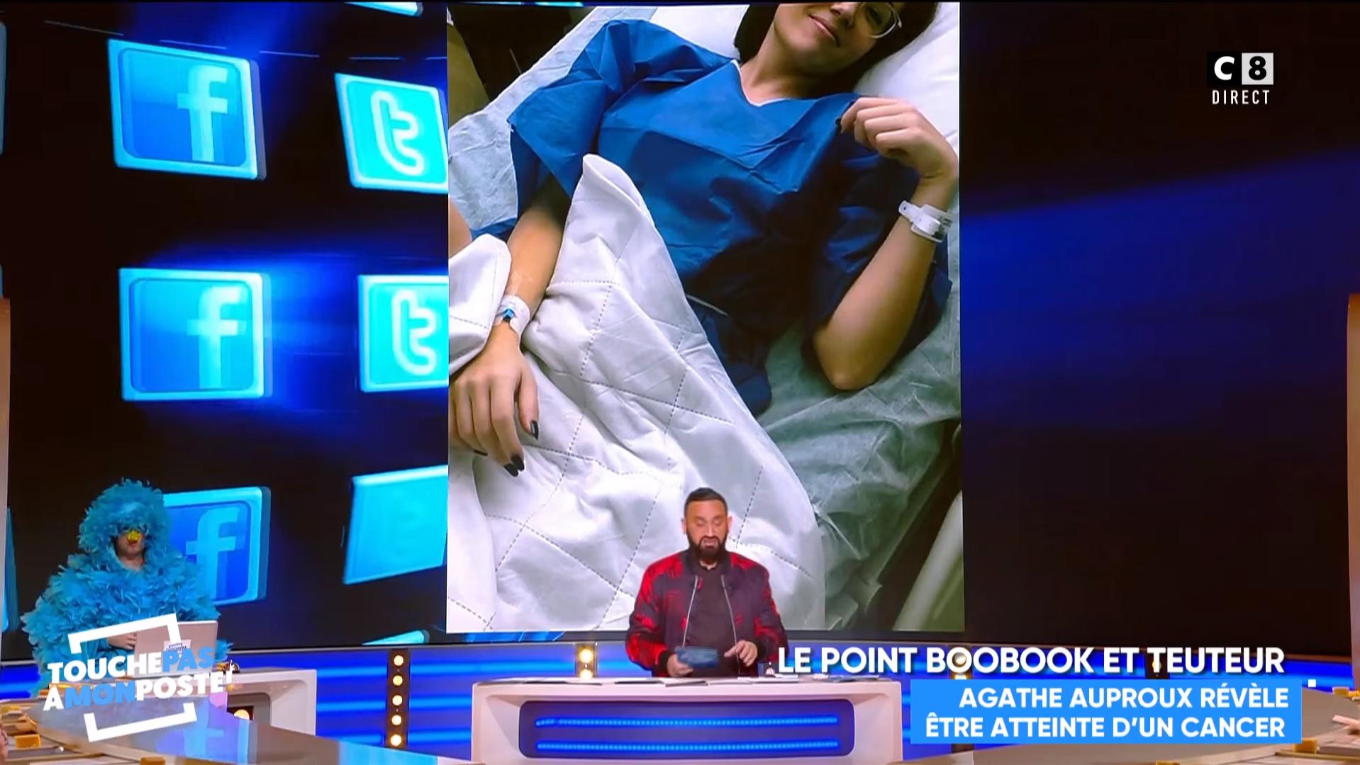 Matthieu Delormeau, Gilles Versez... tous la soutiennent — Cancer d'Agathe Auproux