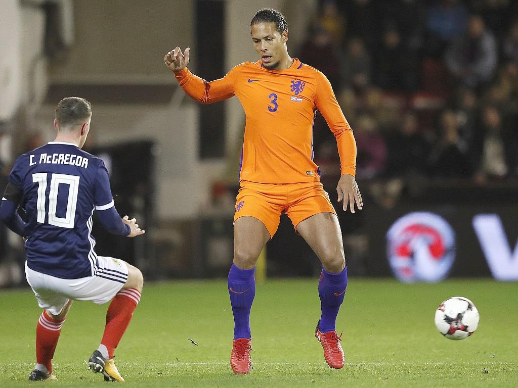 Van Dijk nouveau capitaine — Pays-Bas