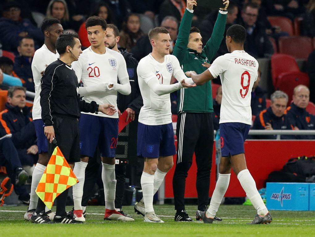 Jamie Vardy s'est manqué contre les Pays-Bas