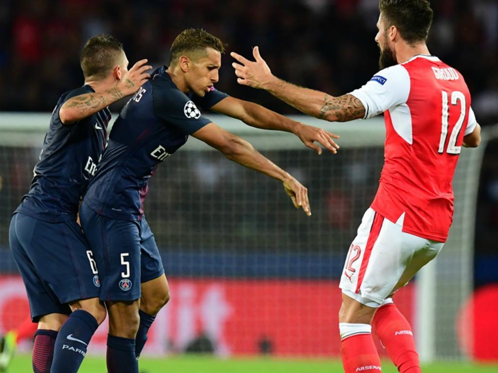 Arsenal: les dessous de l'embrouille entre Giroud et Verratti