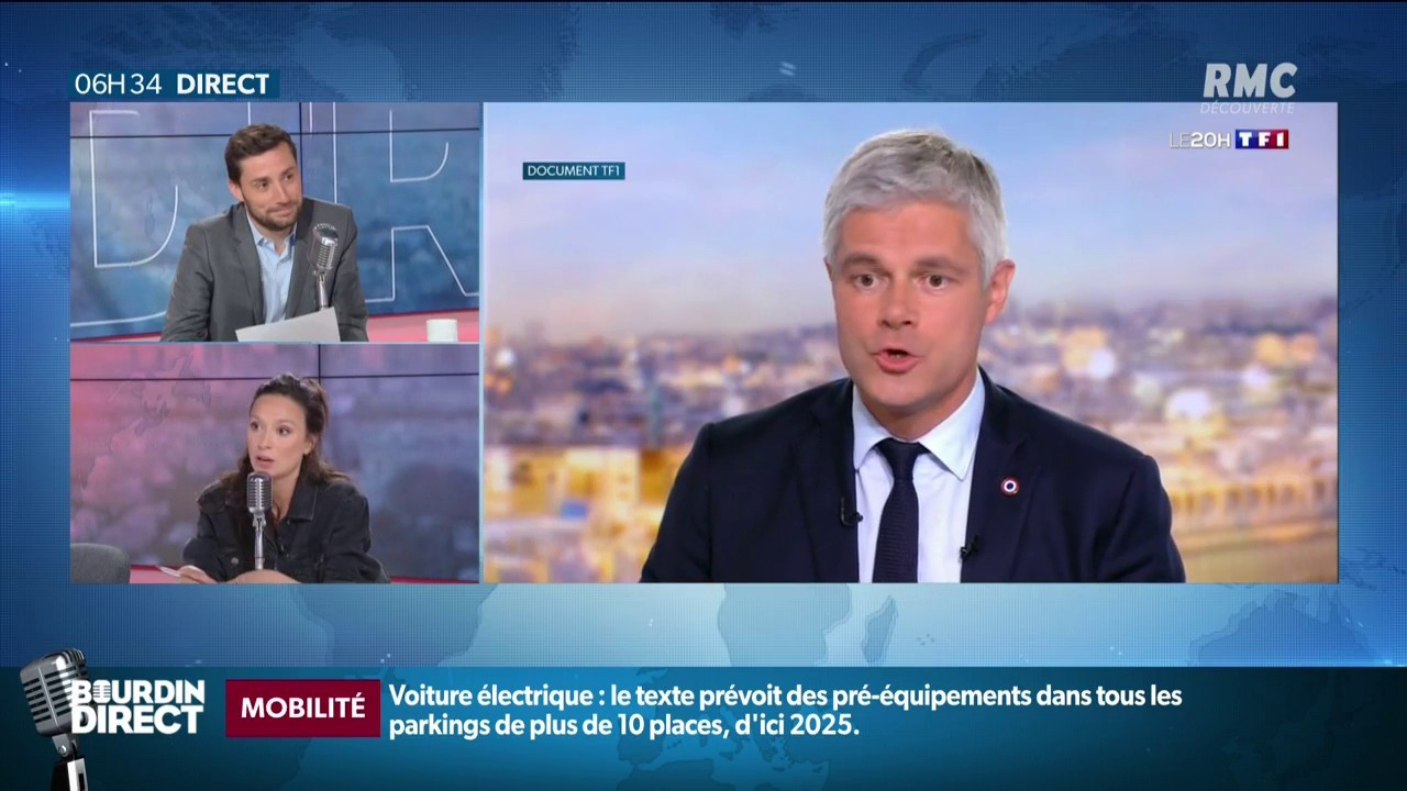 Laurent Wauquiez démissionne de la présidence des Républicains