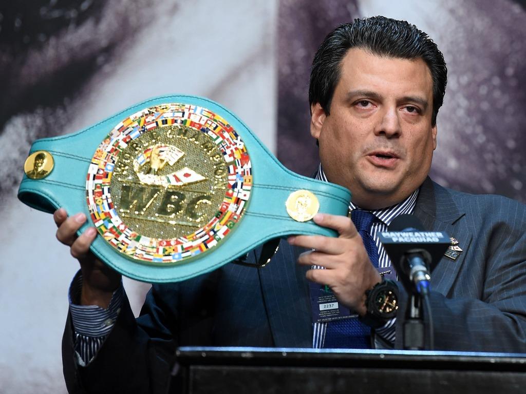 Le président de la WBC, Mauricio Sulaiman