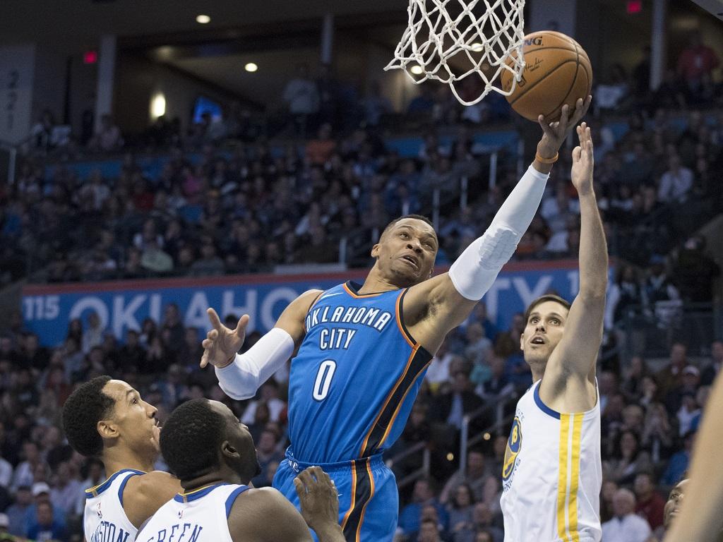 OKC et Westbrook renversent le Jazz — NBA