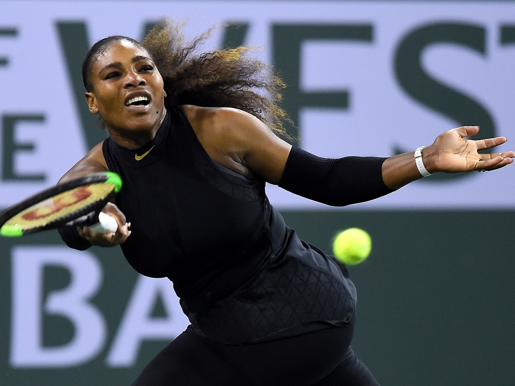 Retour gagnant pour S.Williams — Indian Wells