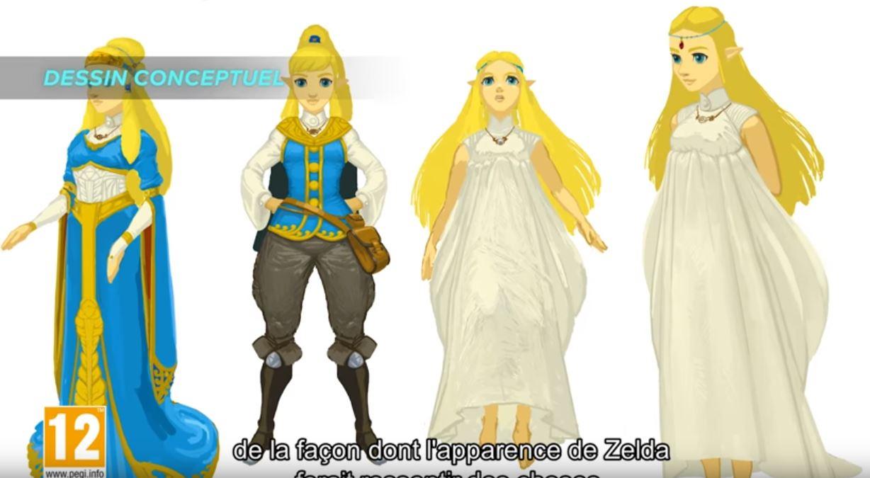 The Legend Of Zelda Breath Of The Wild Le Personnage De Zelda A