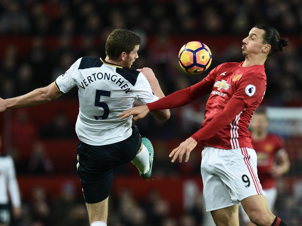 Zlatan Ibrahimovic face à Jan Vertonghen